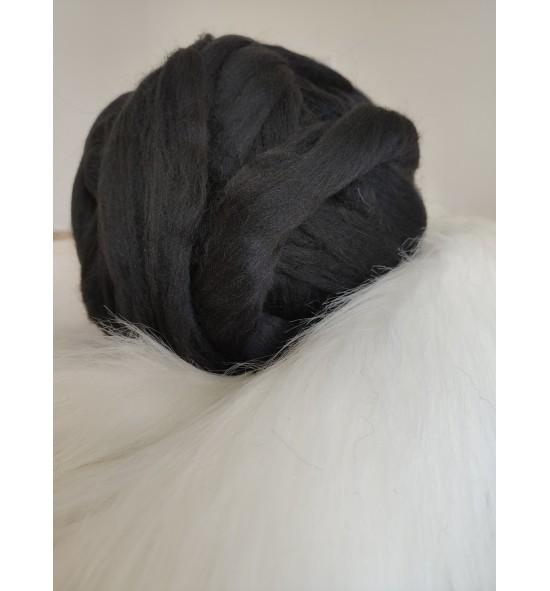 Ovčie rúno - čierná