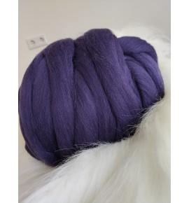 Ovčie rúno - Tmavá fialová
