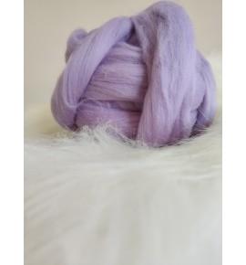 Ovčie rúno - svetlá fialová